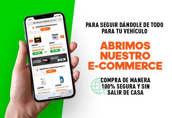 Banner lanzamiento E-commerce